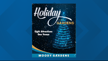 We've got FREE Moody Gardens tickets and we want to give them to you!