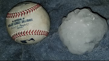 How does hail form, and what size should we be concerned about?