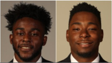 Two Baylor football players not indicted in connection to sexual assault case