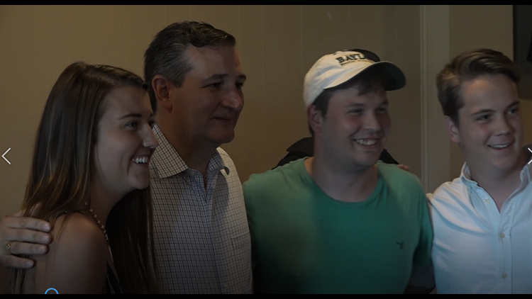 Republican Senator Ted Cruz made a stop Tuesday in Waco to visit with voters at George's Restaurant.