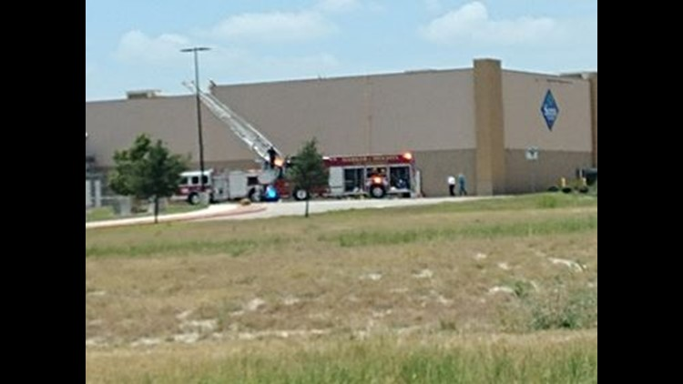 UPDATE: Harker Heights Fire Department confirms the leak was sewer gas, not natural gas.