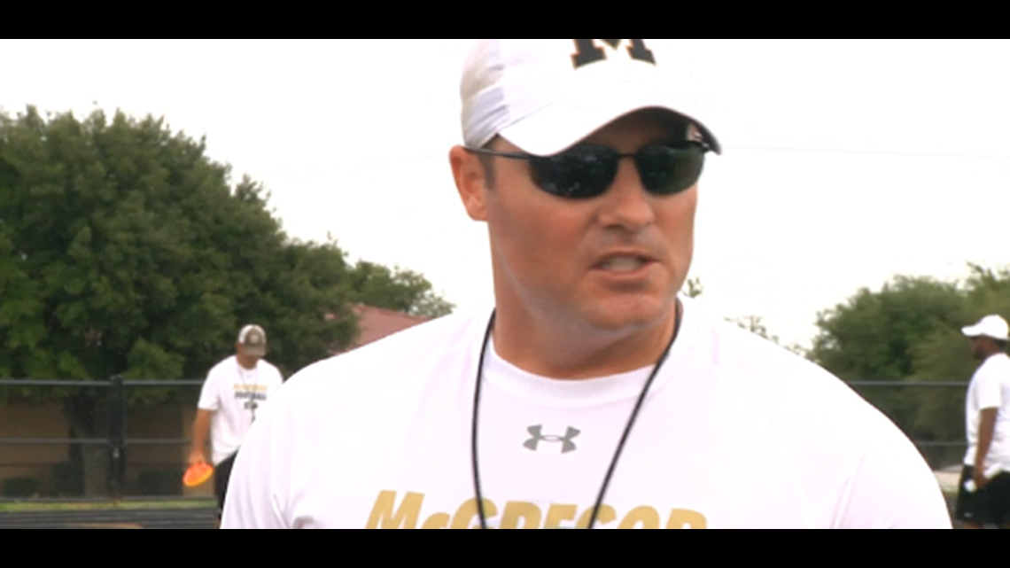 McGregor head football coach, Athletic Director Judd ...