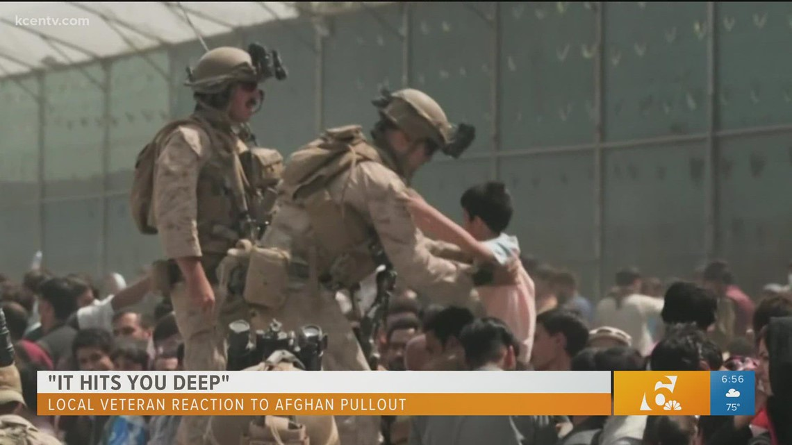 'It hits you deep' | Local veteran reaction to Afghanistan pull out