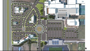 City and ISD make plans to put roundabout in front of Temple High