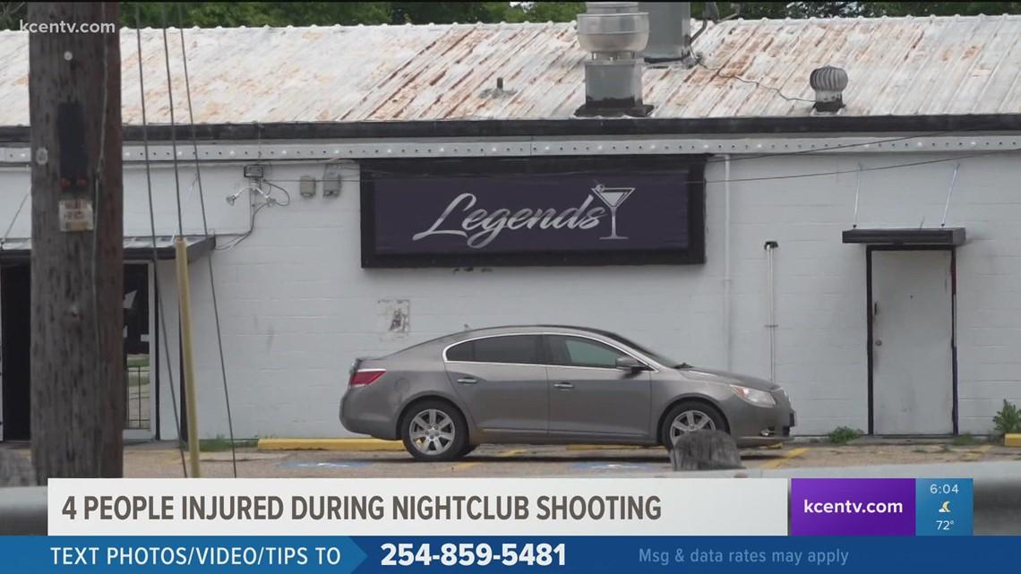 4 people injured during nightclub shooting