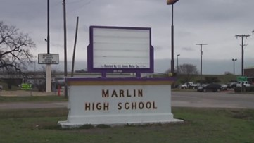 No school for Marlin ISD after water main break