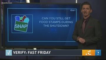 Verify: Jan. 4, 2019 Fast Friday