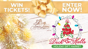 Enter to Win Tickets to the Deck the Halls Holiday Gift Market