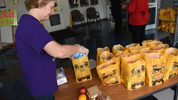 Killeen ISD prepared lunches for students
