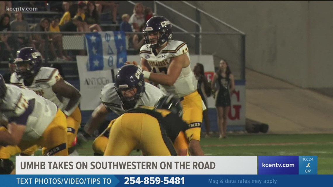 UMHB remains undefeated with road victory