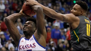 Bears notch program's first win at Kansas