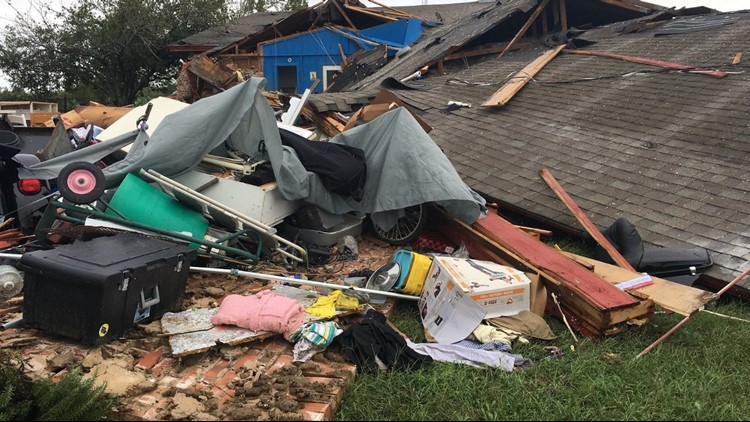 The National Weather Service confirmed that tornadoes touched down near Bynum, Corsicana, near Buffalo about 10 miles southeast of Teague.