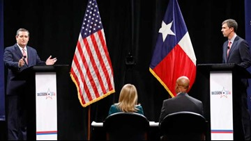 LIVE TEXAS DEBATE: Cruz, O'Rourke battle down stretch in closely watched Senate race