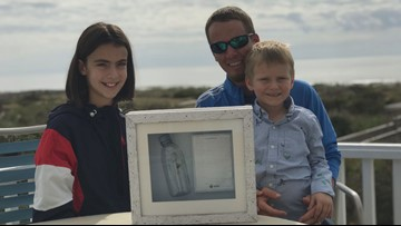 Message in a Bottle Leads to An Across the Ocean Meeting Between a French Girl, NC Man