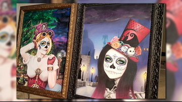 Downtown Temple will become a huge canvas for Day of the Dead celebrations