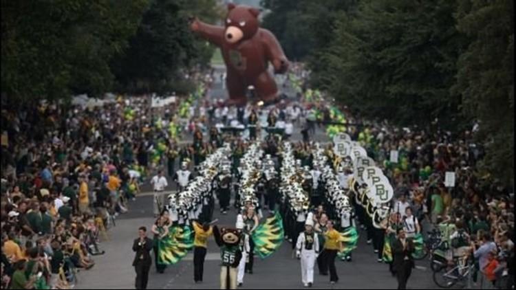 REPLAY   2021 Baylor Homecoming Parade