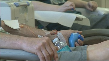 Blood donors in high demand ahead of summer months