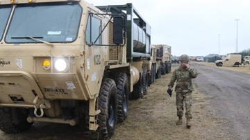 Fort Hood troops arrive to border support mission