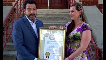 Central Texas Spotlight: Local woman receives Yellow Rose of Texas Award