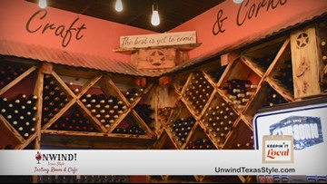 Unwind! Texas Style Tasting Room & Cafe