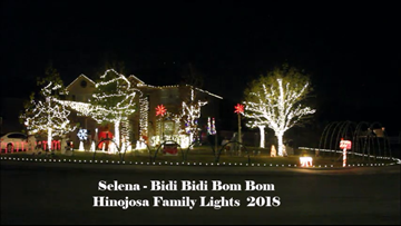 EXCLUSIVE: Meet the Boerne family behind the viral 'Selena' Christmas Light show