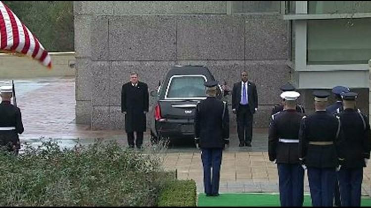 Bush casket at library_1544134665098.JPG.jpg