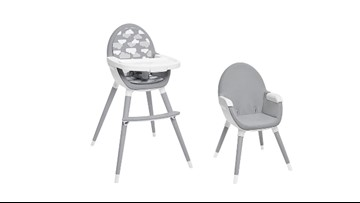Skip Hop recalls 32,000 high chairs because legs can detach