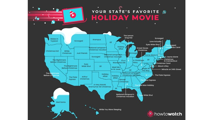 Texas' favorite Christmas movie is a stoner comedy, report says
