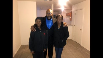Killeen community supports single mom after she lost her home in a fire, finds her new place to live