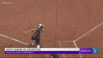 Crawford softball one win away from state title game