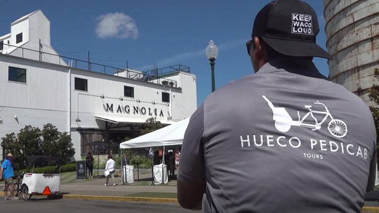 Waco man starts pedicab business in Silos District