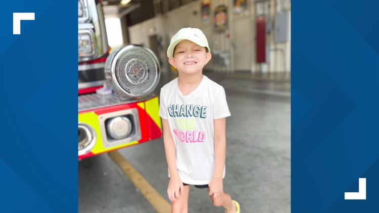 #LiveLikeMaddie: Copperas Cove firefighters shave their heads to support child battling leukemia