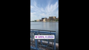 Instagram story from Leslie Draffin in Tampa
