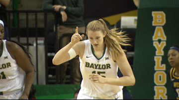 Lady Bears claim top spot in AP women's college basketball poll