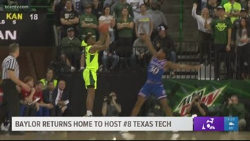 Baylor Hoops returns home to host #8 Texas Tech