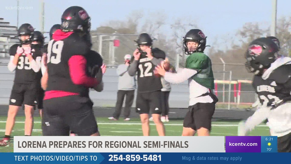 Lorena Leopards prepare for regional semi-finals on Thanksgiving