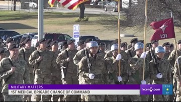 Military Matters: 1st Medical Brigade change of command