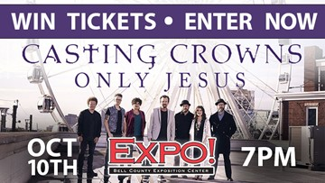 Win Tickets to Casting Crowns at the Bell County Expo Center