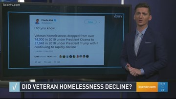 Verify: Did veteran homelessness decline?