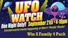 Win Tickets To UFO Watch at Ware's Wonder Woods