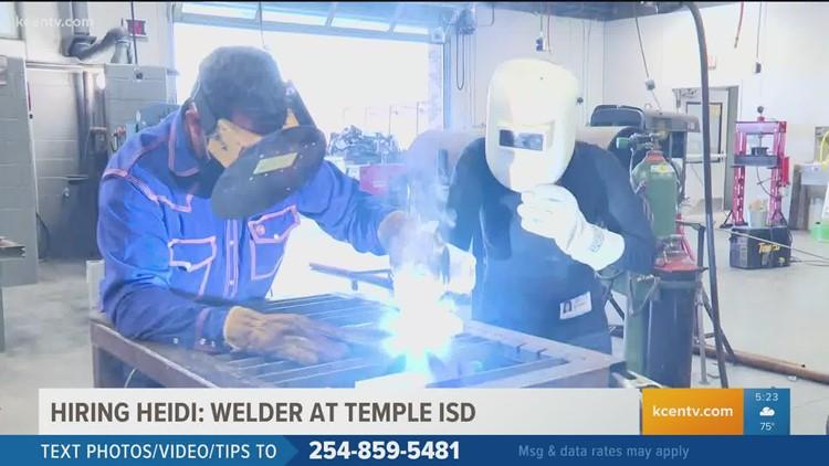 Hiring Heidi | Welder at Temple ISD