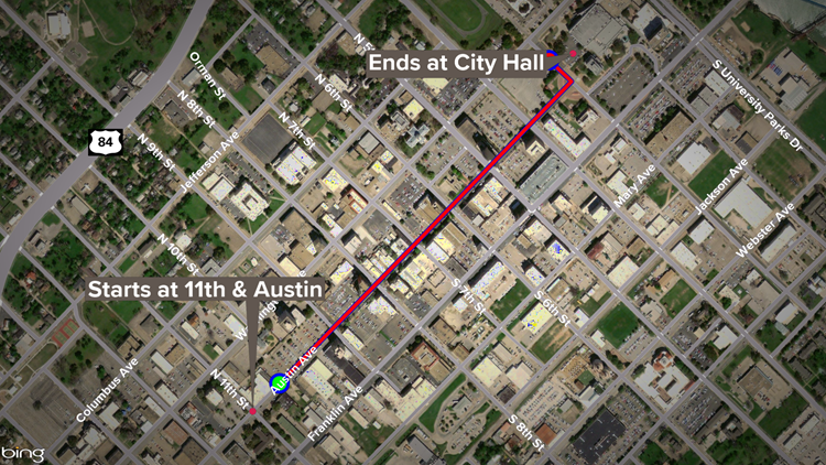 Baylor championship parade route