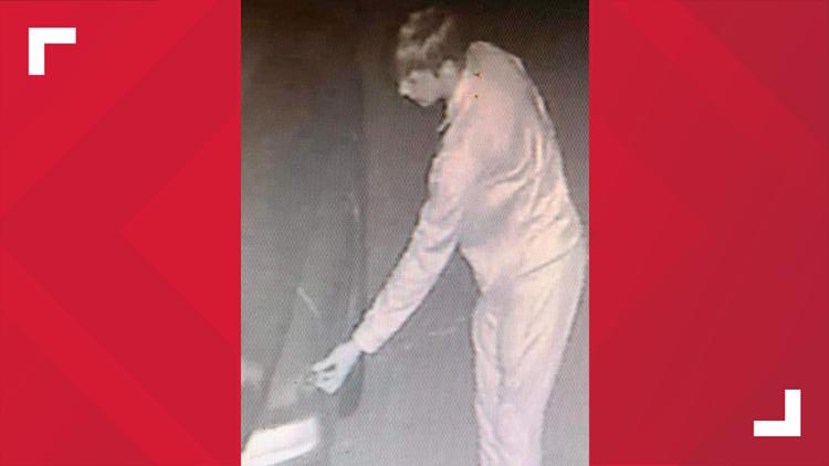 Temple car burglary suspect