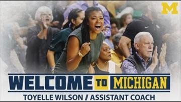Lady Bears coach Toyelle Wilson joins Michigan coaching staff
