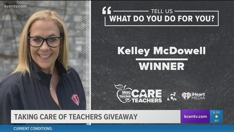 Taking Care of Teachers Giveaway: Kelley McDowell