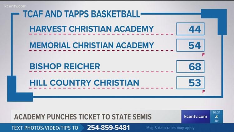 Two area private schools win historic games