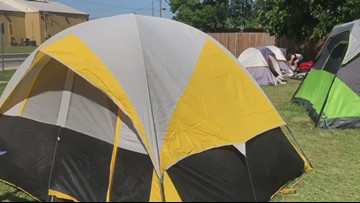 Former tent city residents forced to leave private property after neighbors file complaint