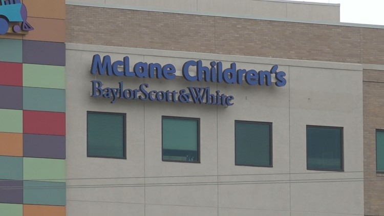 McLane Children's seeing increase in kids hospitalized with COVID