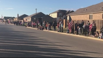 Community honors Fort Hood soldiers killed in Afghanistan with surprise for widows