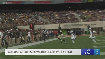 TCU loss creates bowl-bid clash vs Texas Tech for Baylor